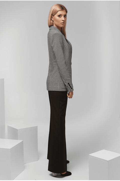 Піджак жіночий Erika з принтом гусяча лапка
