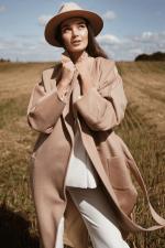 Женское шерстяное пальто Alexandra