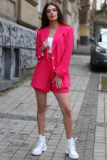 Костюм женский Agata с пиджаком прямого кроя и шортами