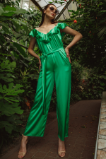 Дизайнерський шовковий комбінезон Isabelle