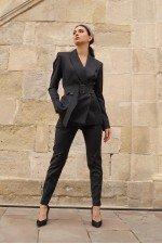 Костюм женский Mirey с пиджаком под пояс