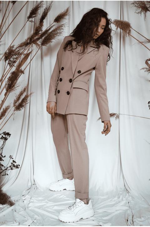 Костюм женский Latisha с пиджаком средней приталенности